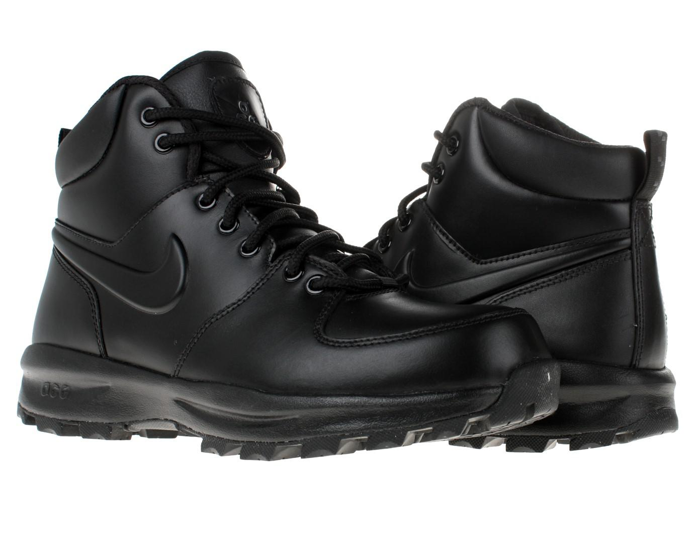 buy popular f45fb 7b05f Lyst - Nike Manoa Leather Boot 11 Us in Black for Men