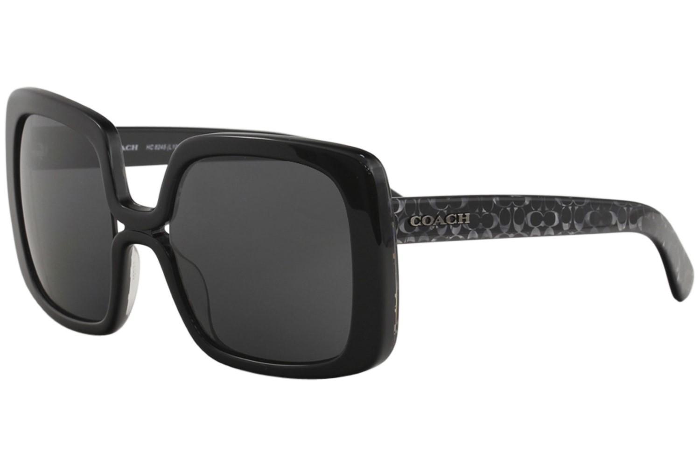 c0bfd7e622547 COACH - Black Hc8245 Hc 8245 552087  signature C Square Sunglasses 56mm -  Lyst. View fullscreen