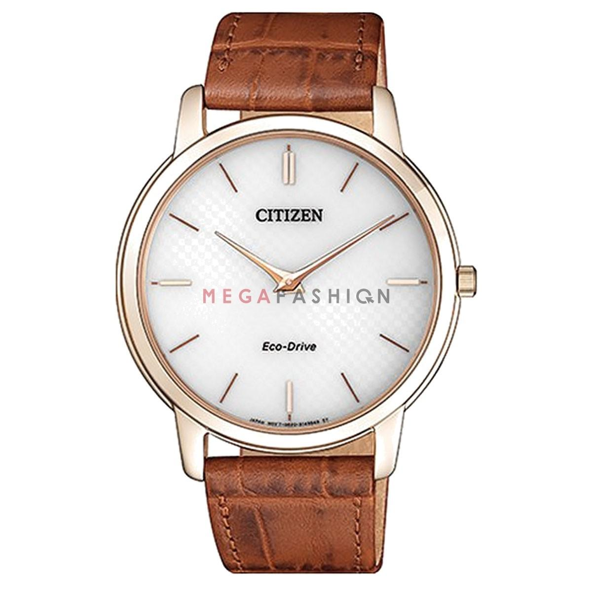 Lyst Citizen New Eco Drive Ar1133 15a Ultra Thin Rose Leather Ca4285 50h View Fullscreen
