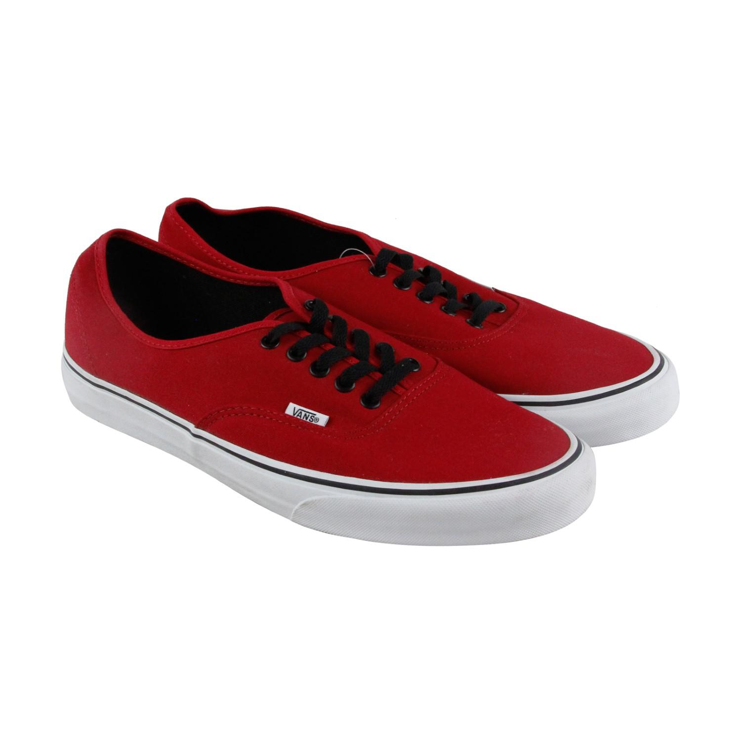1a3e87b1d82 Lyst - Vans Authentic Chill Pepper Black Lace Up Sneakers in Red for Men