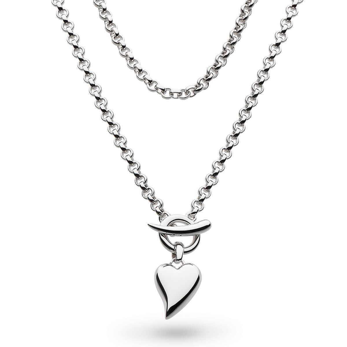 Kit Heath Desire Forever Lust Heart Lariat Necklace 7L4mzI