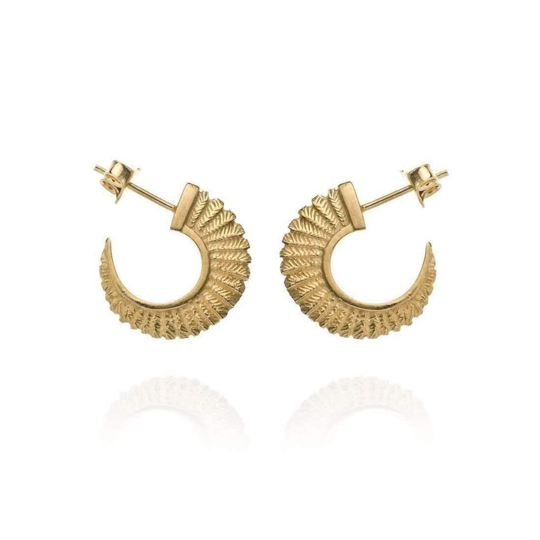Patience Jewellery Fern Stud Earrings S8uN7cmmj