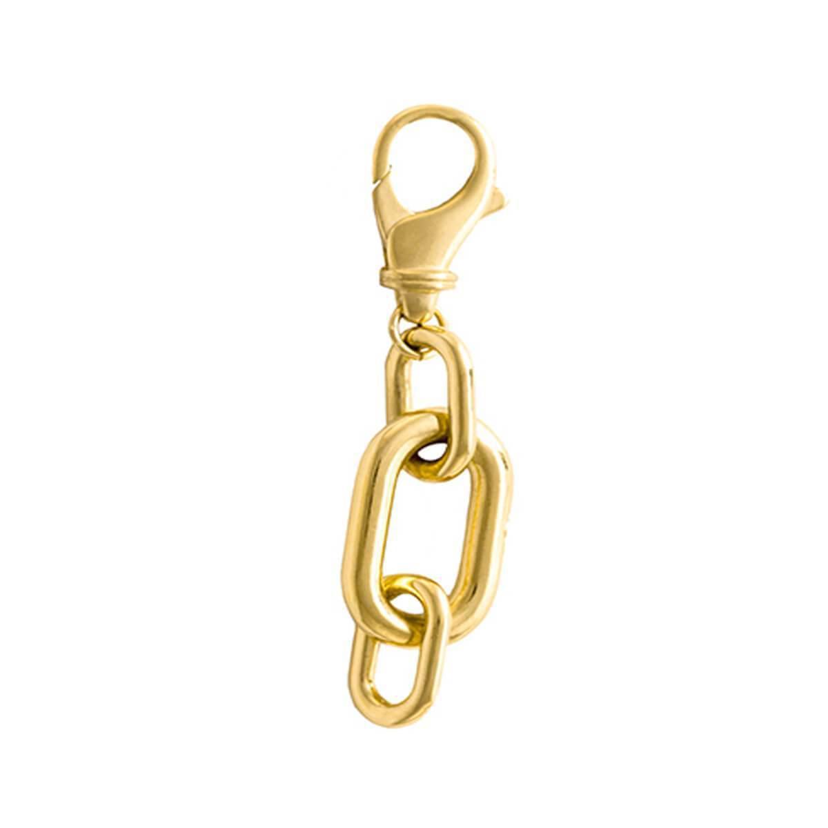 Glenda Lopez 18kt Gold Dipped Medium Golden Link Earring CSh4zmCbbl