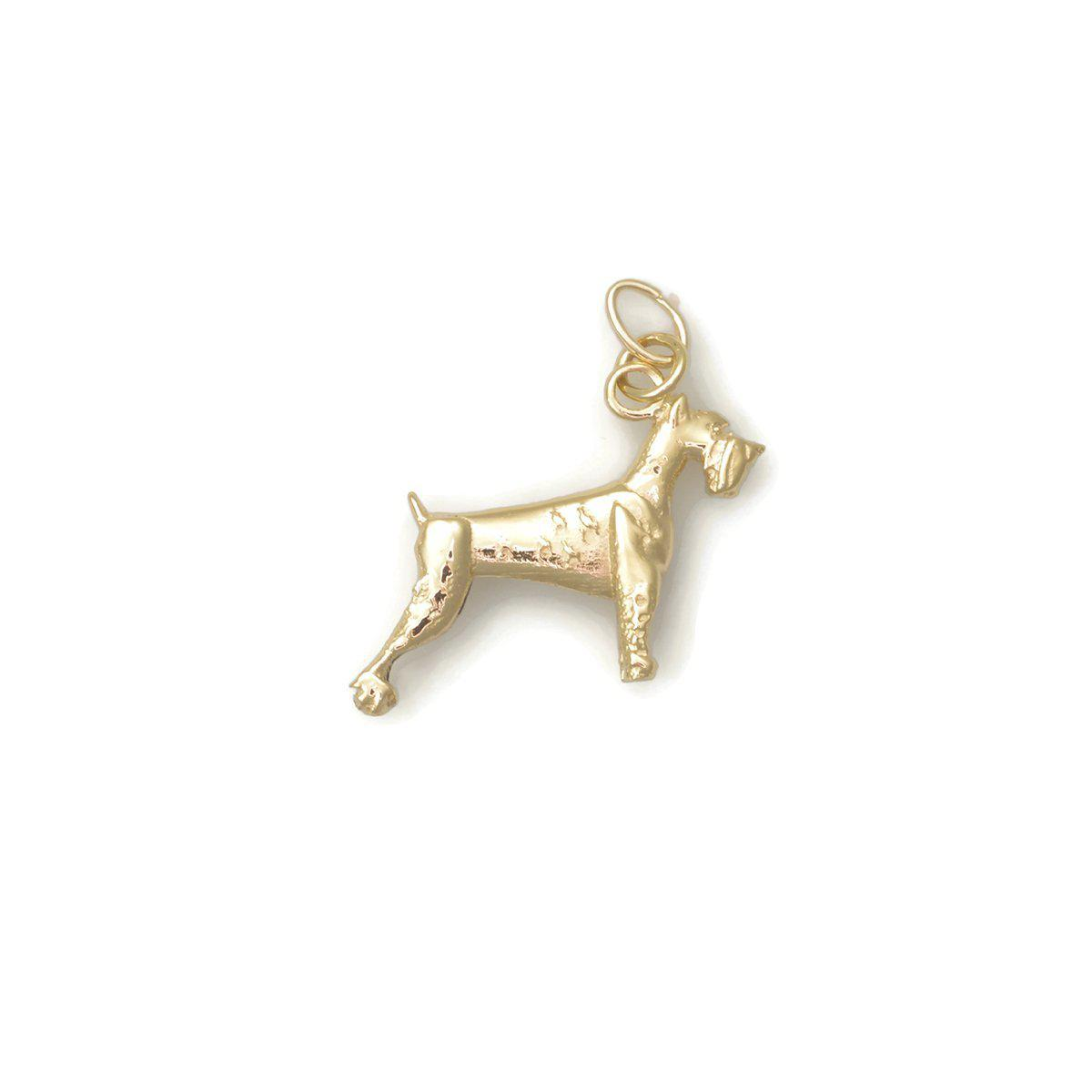 Donna Pizarro Designs 14kt Yellow Gold Sheltie Charm whW7KMDXxT