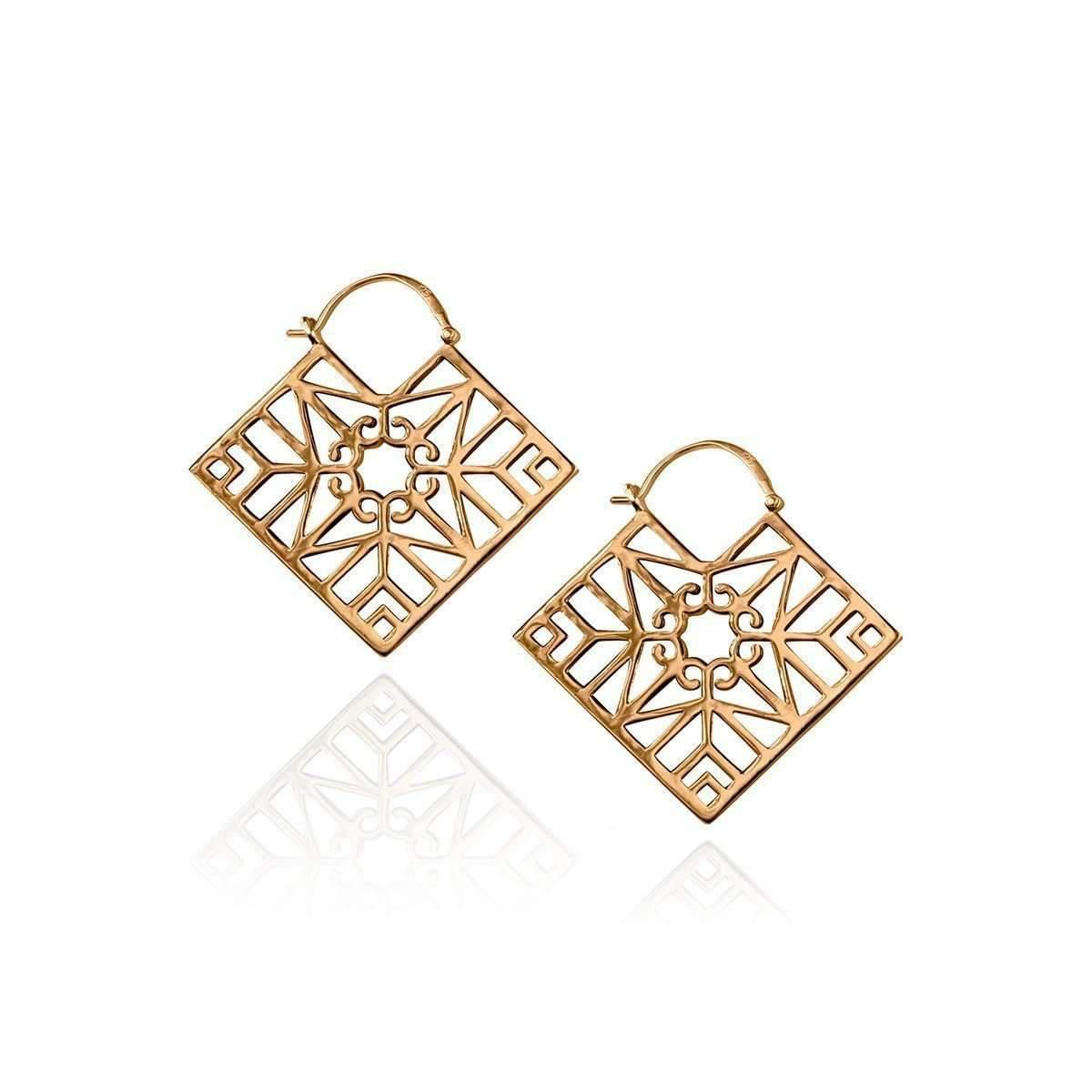 Zefyr Bokeo Earrings Rose Gold EetsjP3F