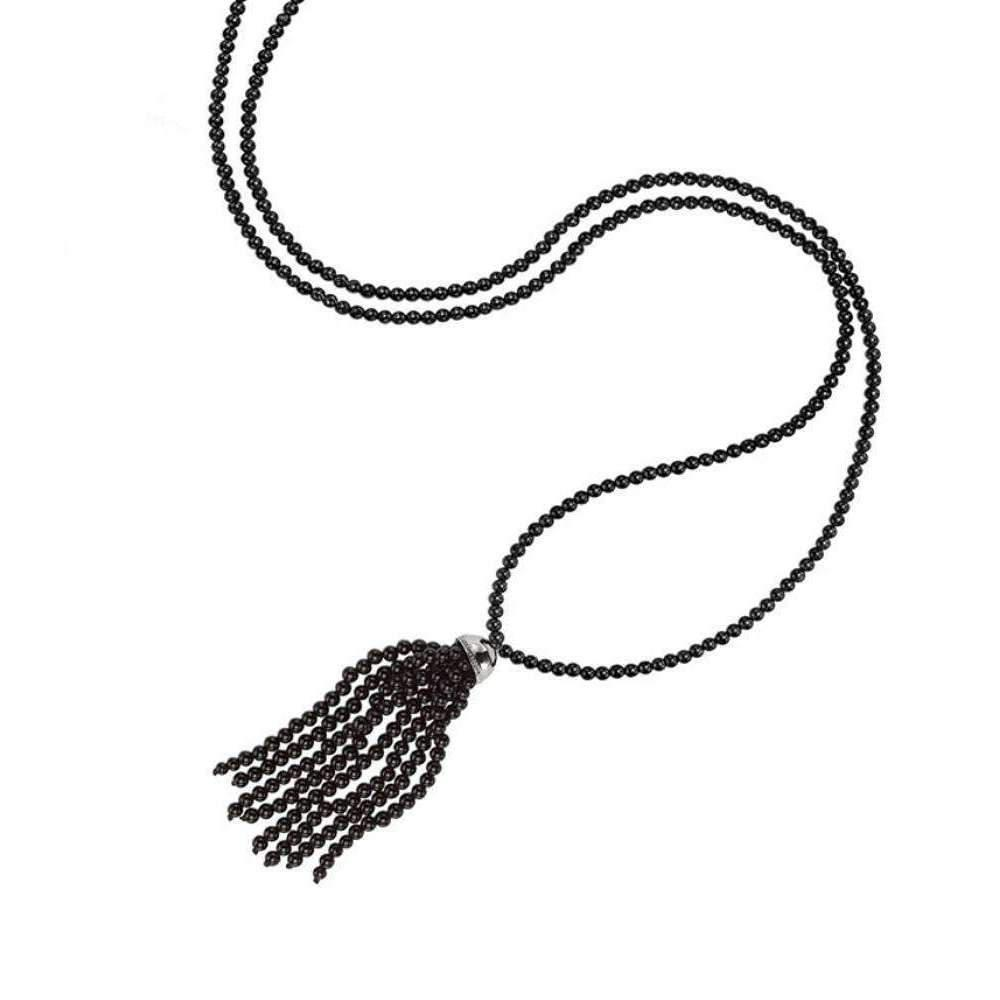 London Road Jewellery Stylish Labradorite Tassel Necklace WeK9abOli