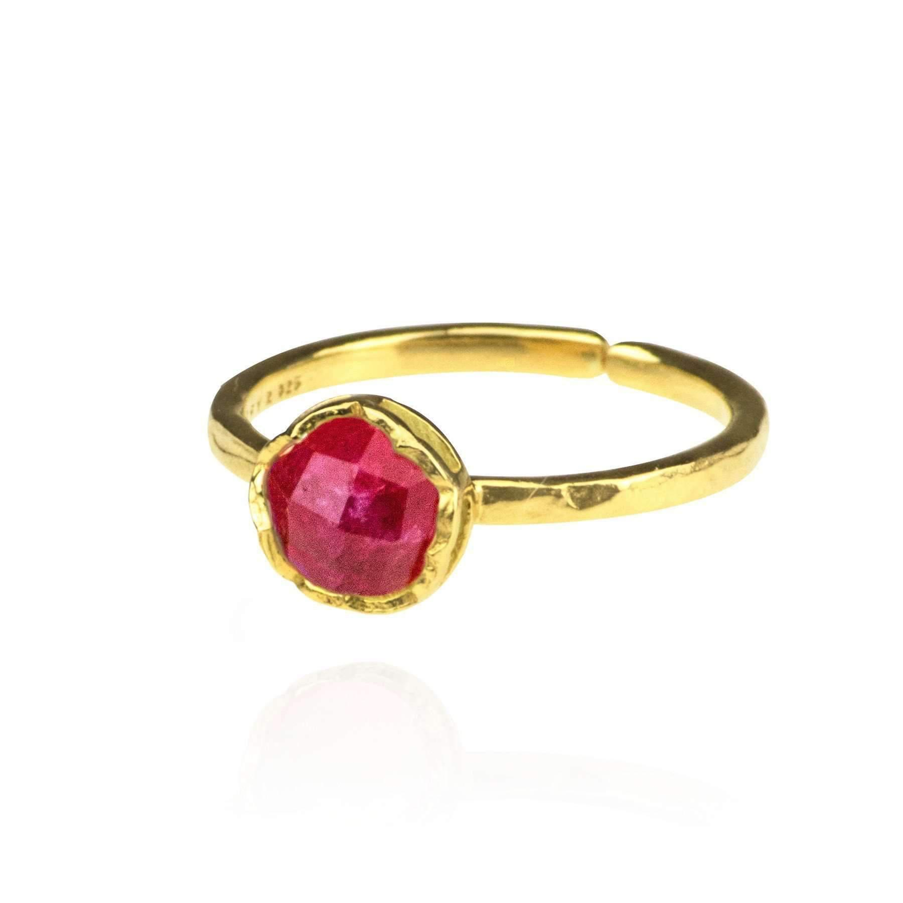 Zefyr Dosha Ring Gold - UK T 1/2 - US 10 - EU 62 1/4 bYgY8