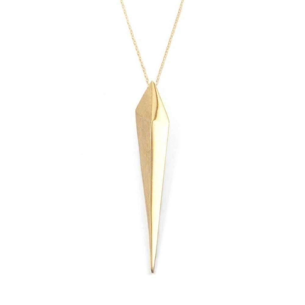 De Anna Kiernan Triple Shard Necklace EqpFY9v