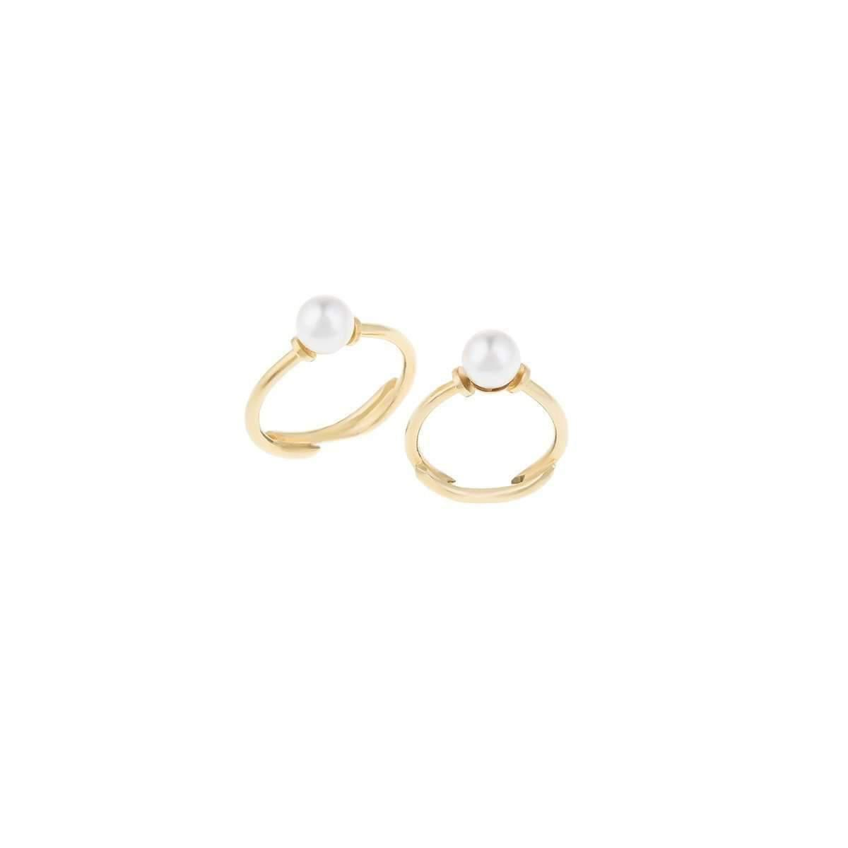 Joanna Laura Constantine Nail Pearl Ring - UK G 1/4 - US 3 1/2 - EU 45 3/4