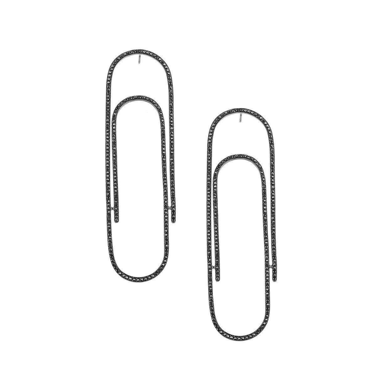 Joanna Laura Constantine Large Paper-Clip Earrings sZDTTww