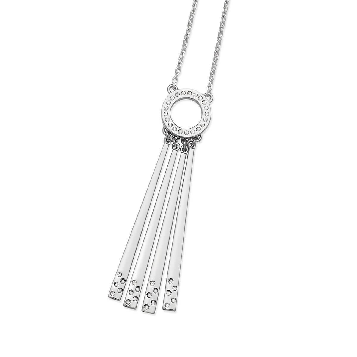 Lucy Quartermaine 1 Drop Necklace Silver 3QZTKv4v