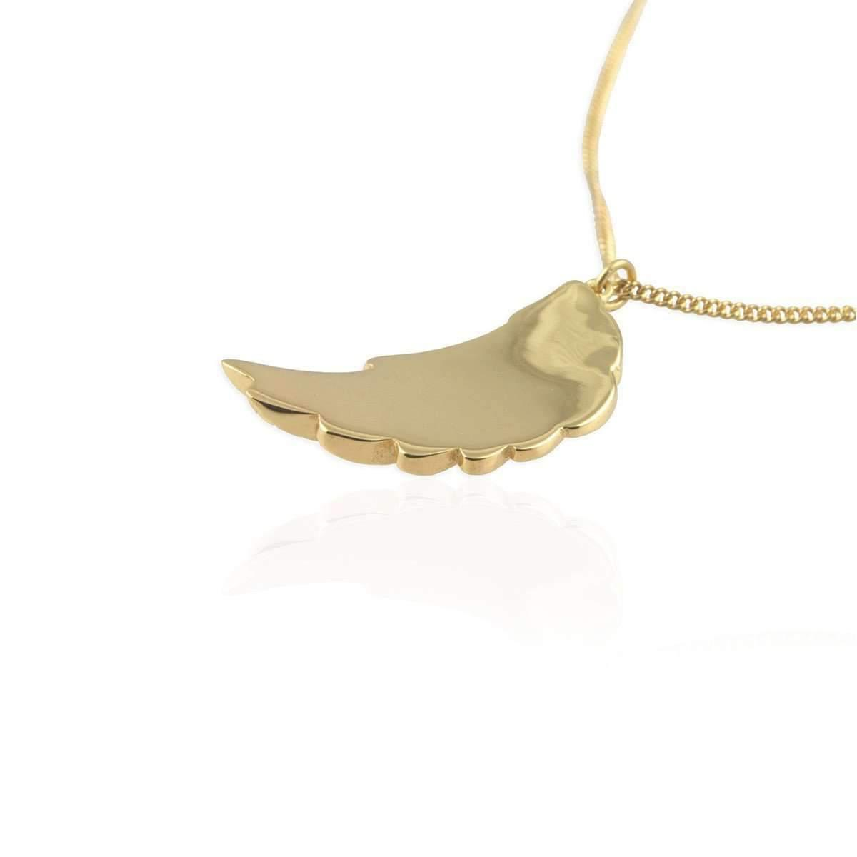 Jana Reinhardt Gold Plated Silver Wing Necklace - 42cm 5GSgtS