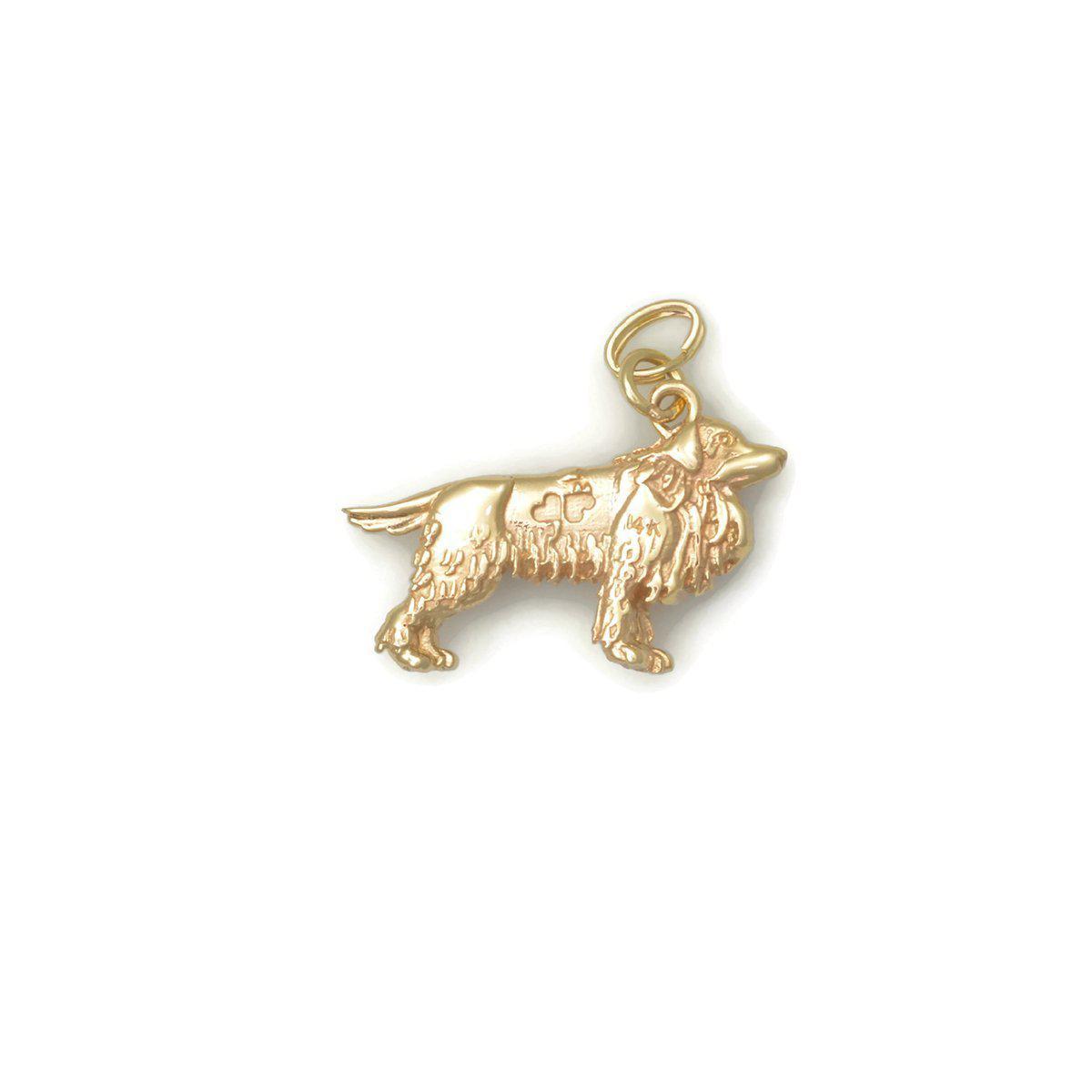 Donna Pizarro Designs 14kt Rose Gold Cocker Spaniel Charm z4b8VmwZG