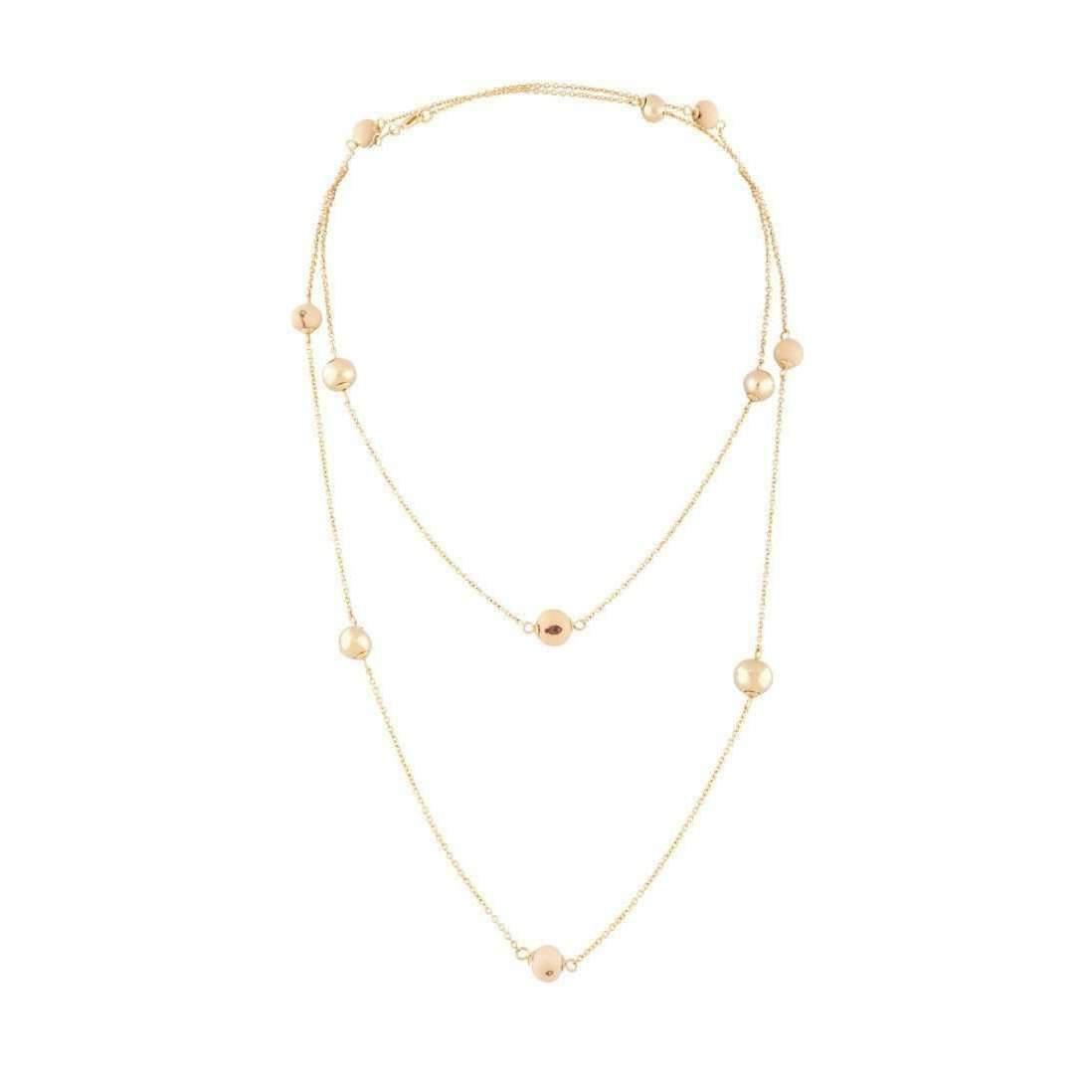 Amazona Secrets 18kt Gold Uvaia Leaf Short Necklace With Green Quartz hN16iaJw