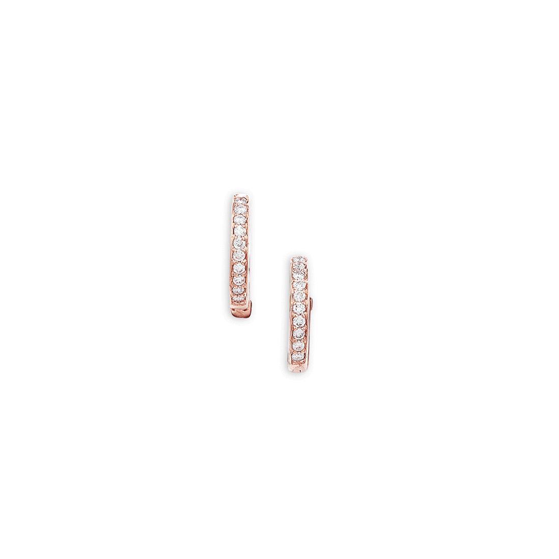 London Road Jewellery Portobello Meridian White Gold Diamond Hoop Earrings jwGzBnM
