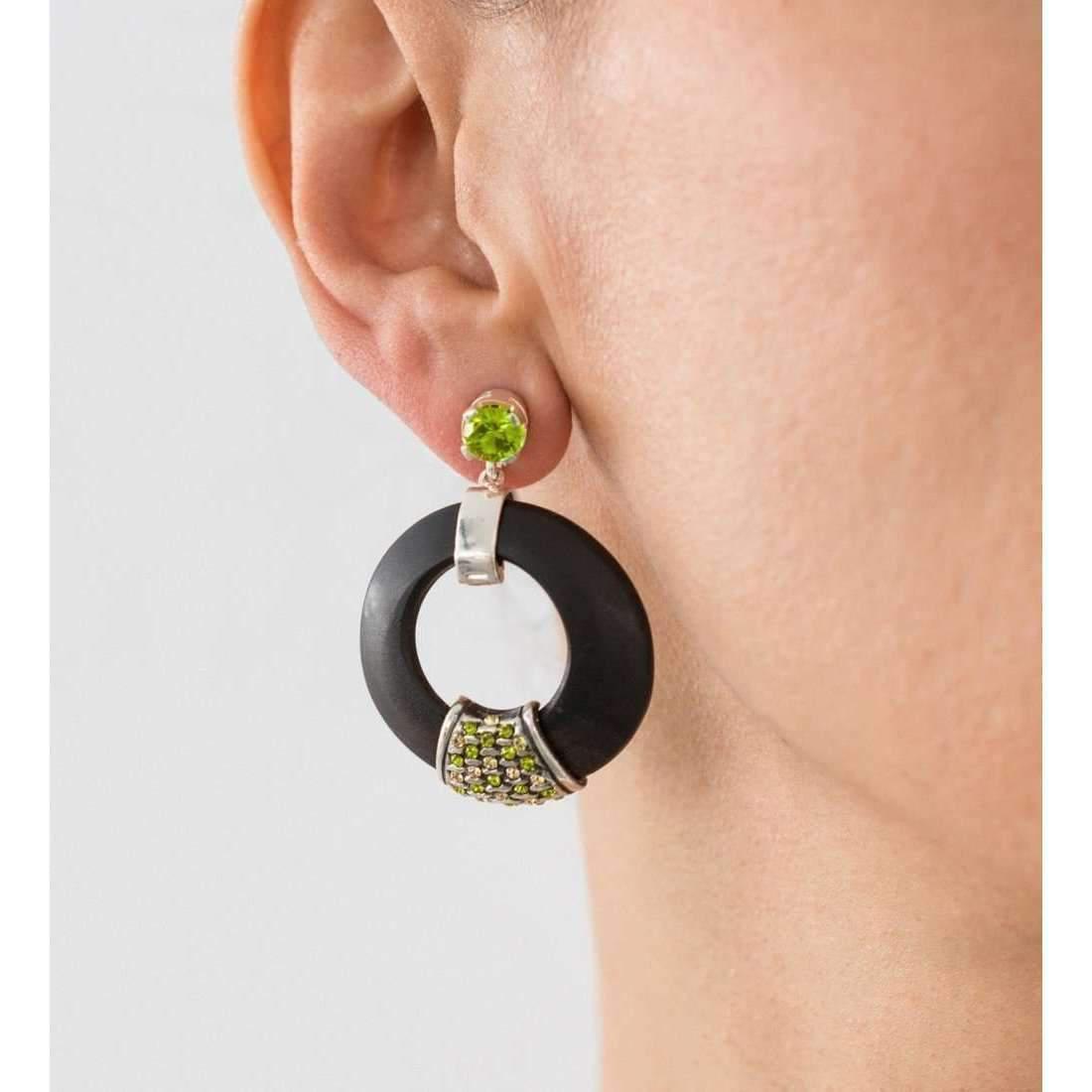 Hissia Green Luz Earrings sBXtLZI