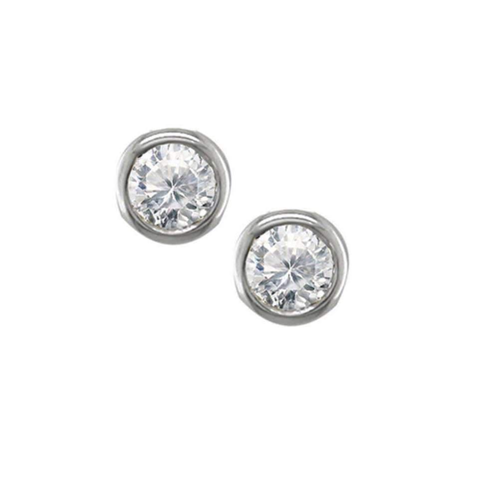 London Road Jewellery Yellow Gold Diamond Solitaire Raindrop Earrings rMSceZQw