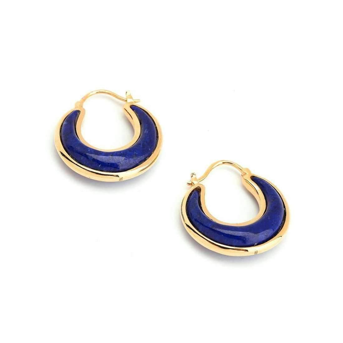 Syna 18kt Lapis Lazuli Earrings NzmSv3
