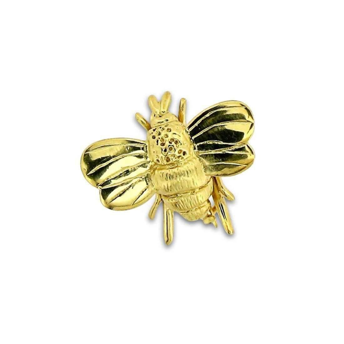 Will Bishop Gold Vermeil Bumble Bee Brooch tUT1fY3g