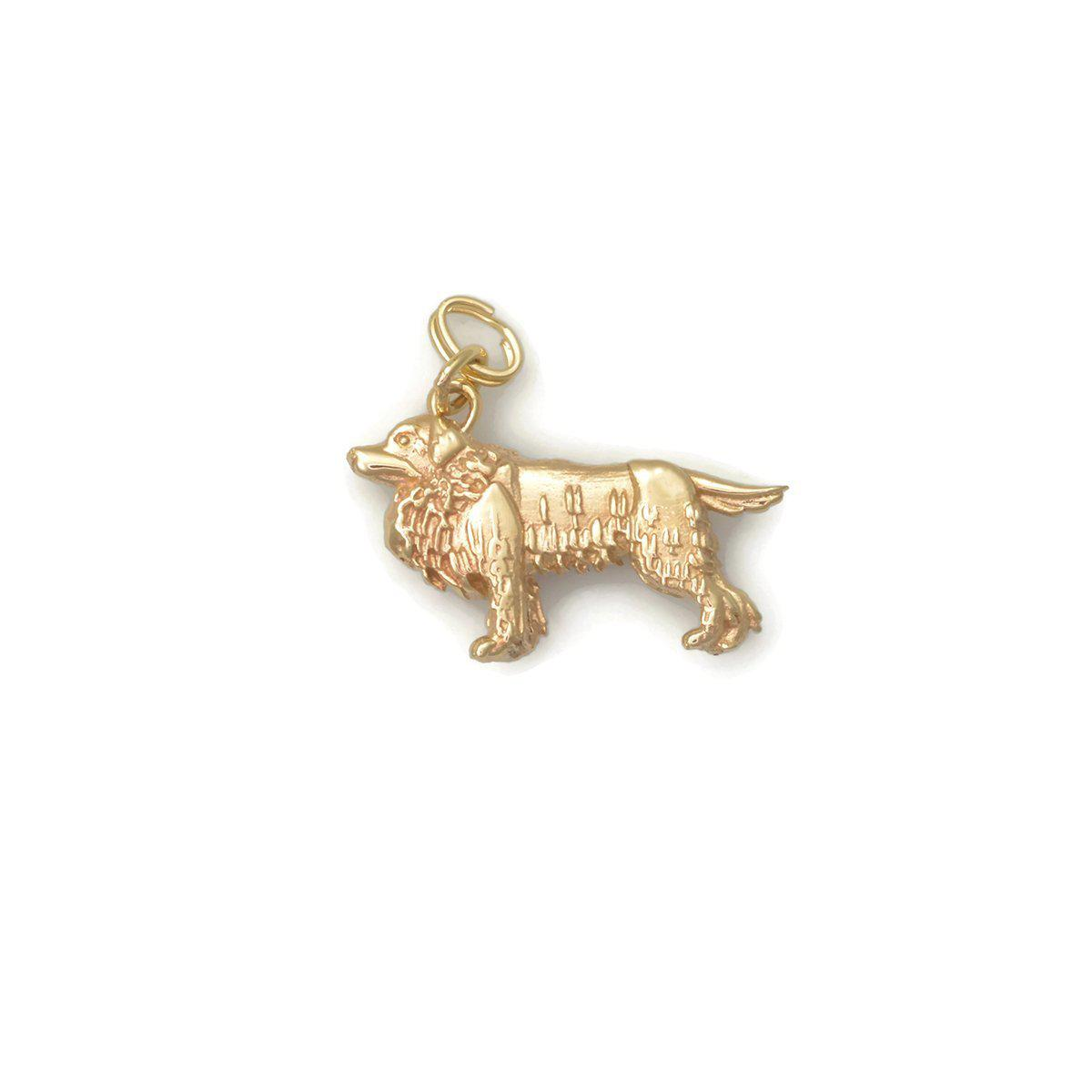 Donna Pizarro Designs 14kt Great Pyrenees Charm