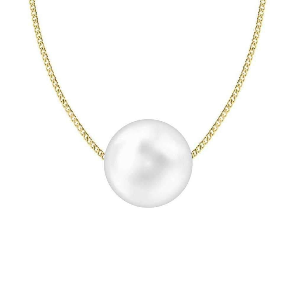 StyleRocks South Sea Pearl Pendant on Sterling Silver Chain eQCws8v
