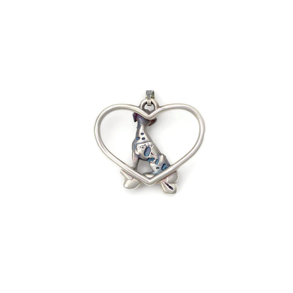 Donna Pizarro Designs Sterling Silver Dalmatian Necklace tg6knQ4cAW