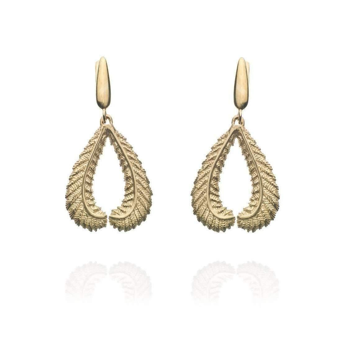 Patience Jewellery Fern Stud Earrings VM XsBOZUu