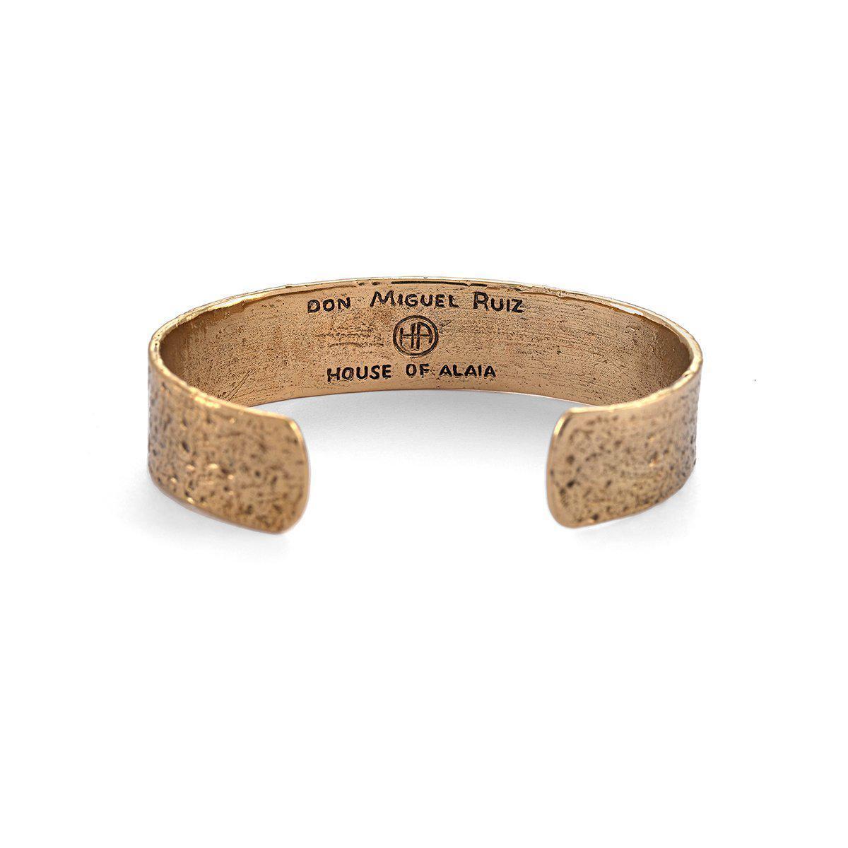 House of Alaia Lotus Cuff Bracelet In Silver Rh8OSkJb