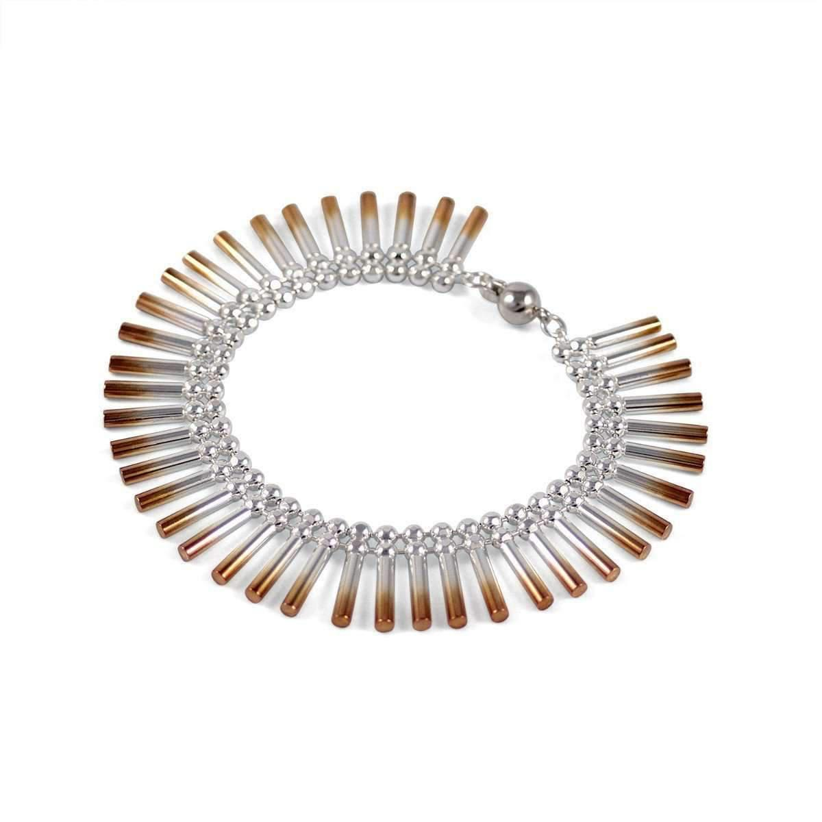 Cara Tonkin Rose Gold Theda Cleo Interchangeable Bracelet/Necklace 5aYybRD