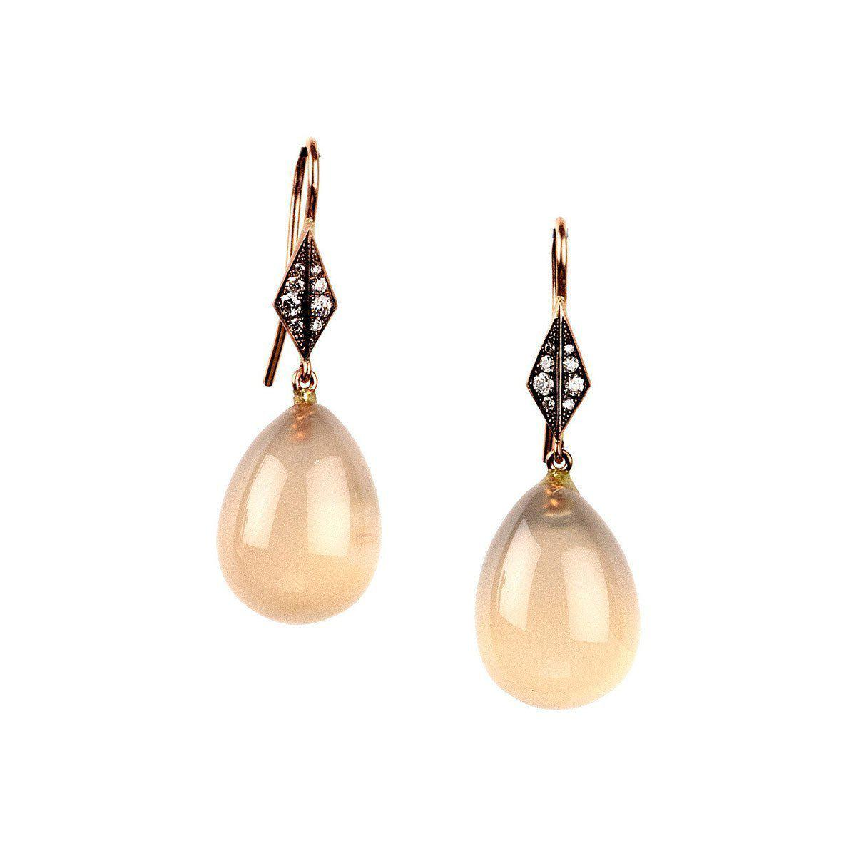 Sylva & Cie. Cornelian Drop Earrings 8HpCp