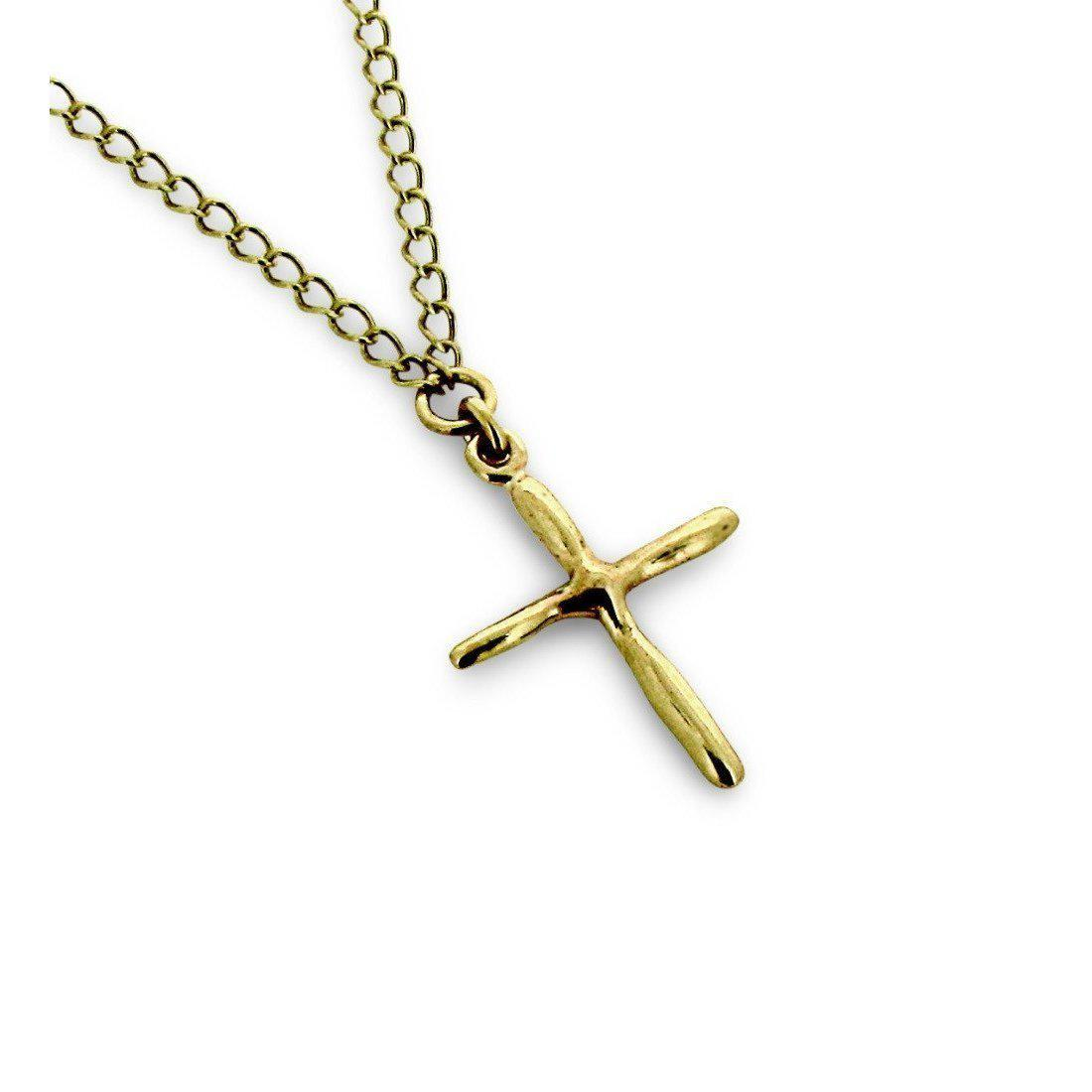 Will Bishop 9kt Gold Cross - 35cm BQ8oIXn