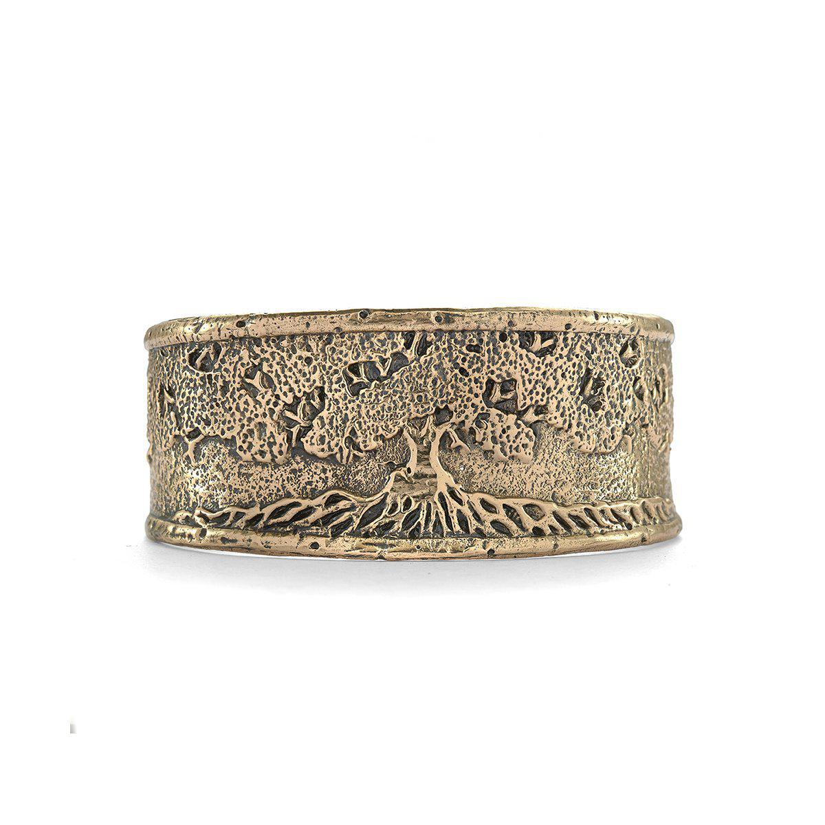 House of Alaia Tree of Life Cuff Bracelet In Bronze jNYNQnn4u