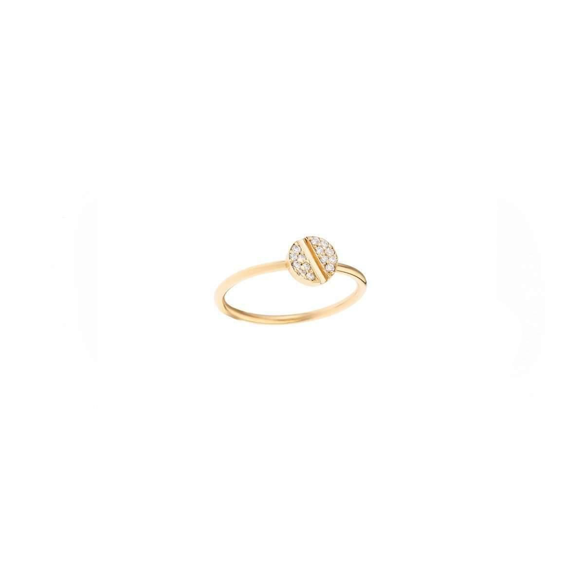 Joanna Laura Constantine Nut Pearl Knuckle Rings - UK G 1/4 - US 3 1/2 - EU 45 3/4 vsUU8bTcM