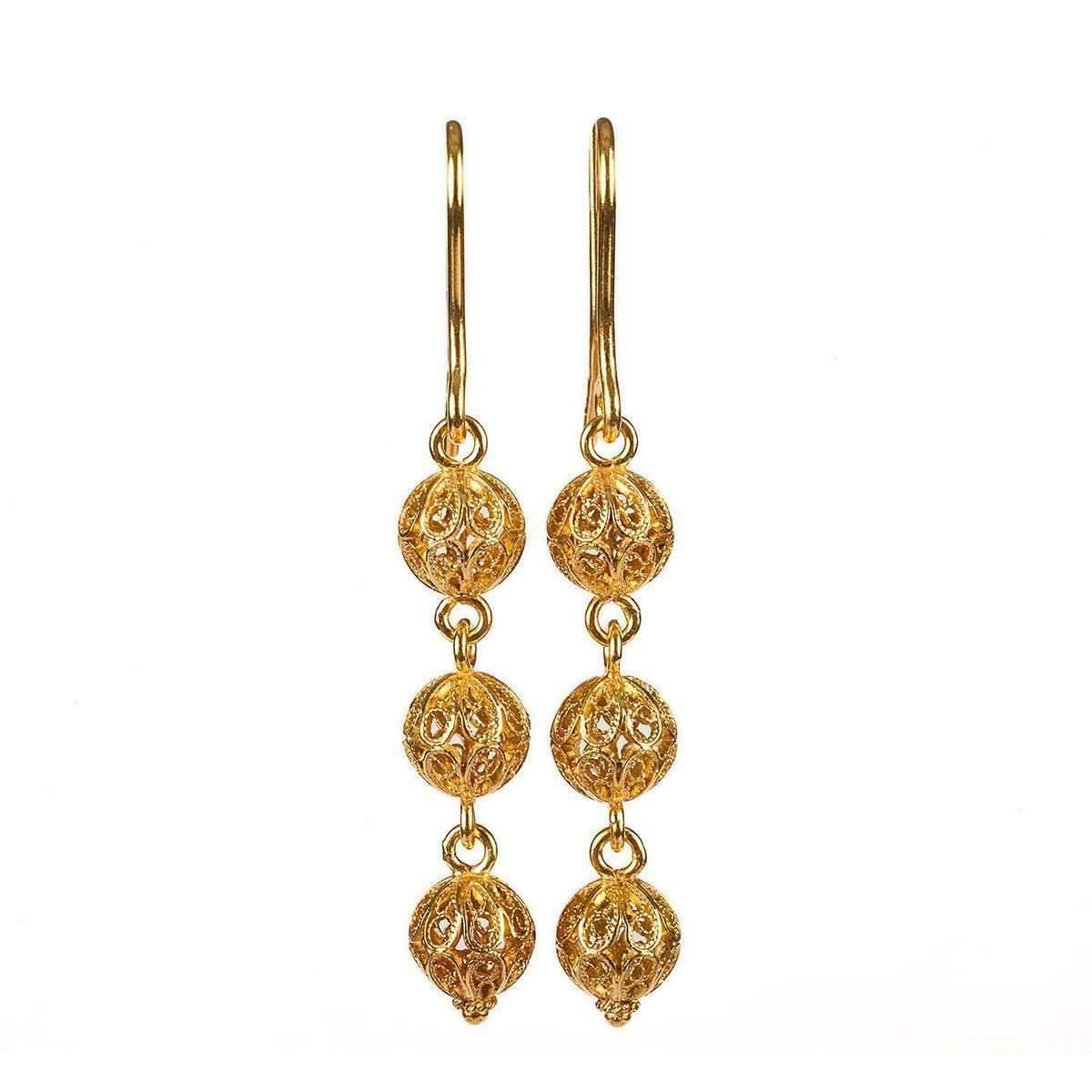 0f9464f040d 18 Kt Gold Earrings - Best All Earring Photos Kamilmaciol.Com