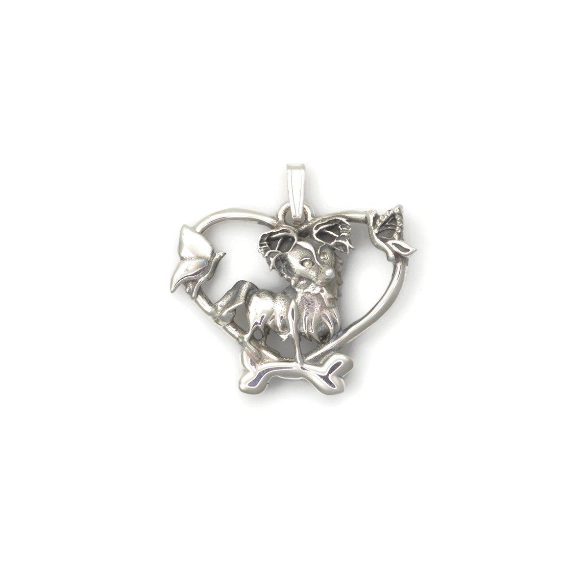 Donna Pizarro Designs Sterling Silver Papillion Necklace n6e1z8