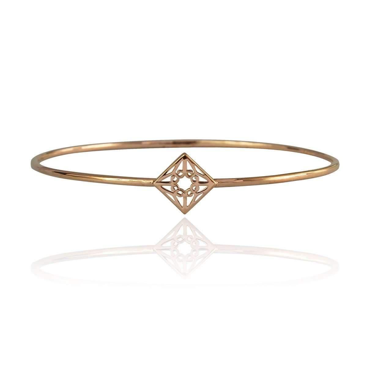 Zefyr Lao Bangle Rose Gold - Medium (65mm diameter) QAyksC