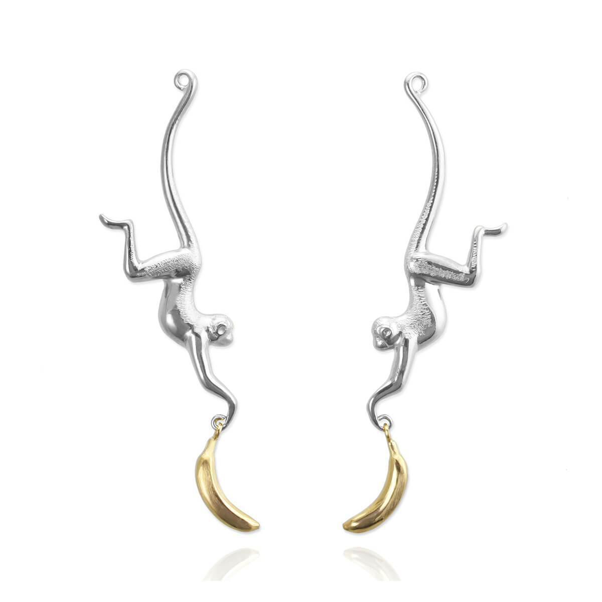 Jana Reinhardt Sterling Silver Toucan Earrings EW0sJA