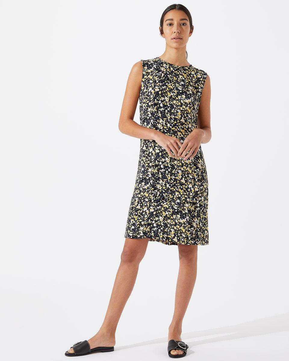 Geo Print Slim Batwing Dress Jigsaw MxF4Ko4mi
