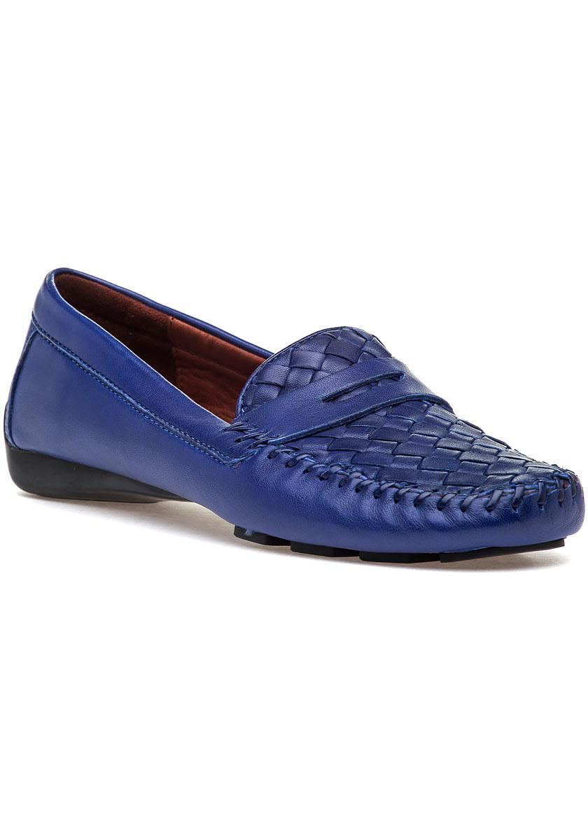 32ce4566b10 Lyst - Robert Zur Petra Royal Leather Loafer in Blue for Men