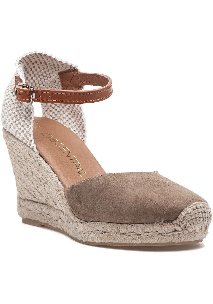 dc81c70b718 Lyst - 275 Central Nantes Camel Suede Espadrille Wedge