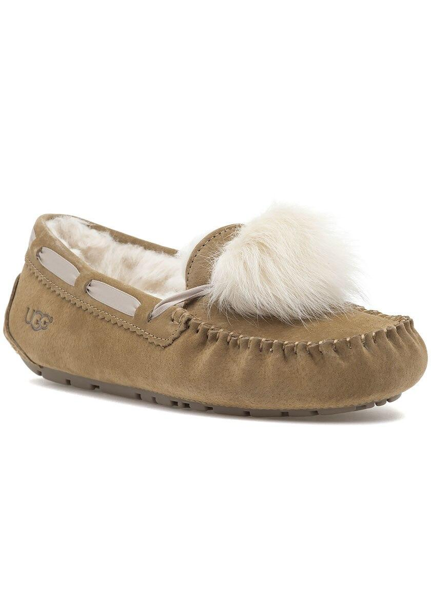 56bd17b8a81 Women's Dakota Pom Pom Slipper Chestnut Suede