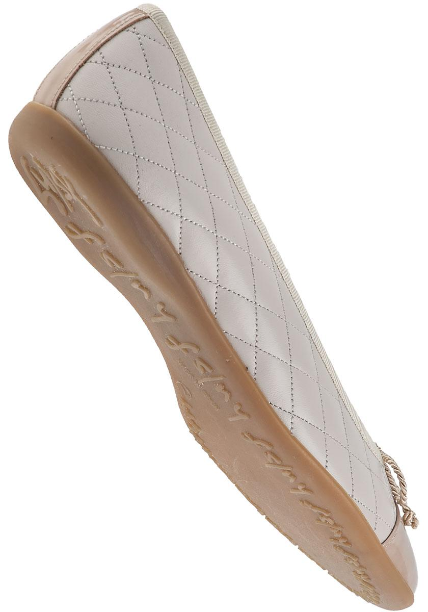 Lyst French Sole Passport Ballet Flat Light Taupe