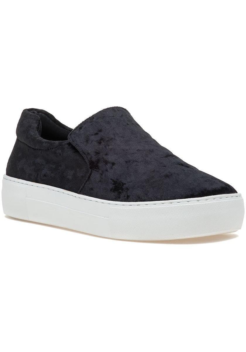 194df52063b5 Lyst - J Slides Acer Slip On Sneaker Black Velvet in Black