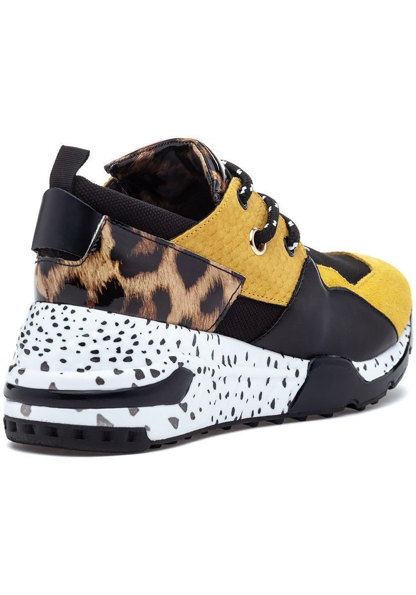 56c2c86f730 Steve Madden Cliff Sneaker Yellow Multi - Lyst