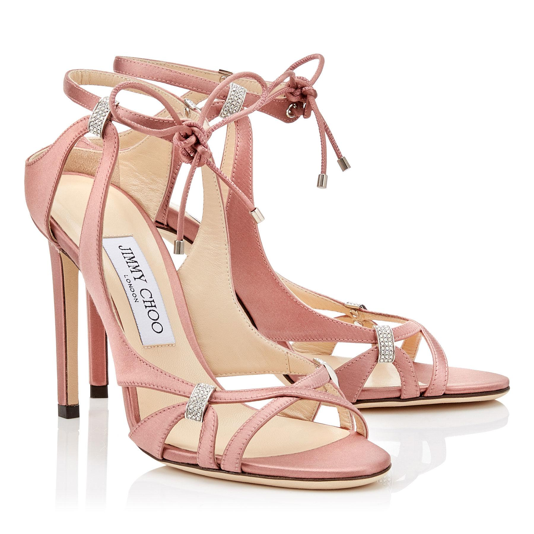 5dd8864f88e736 Lyst - Jimmy Choo Thassia 100 in Pink