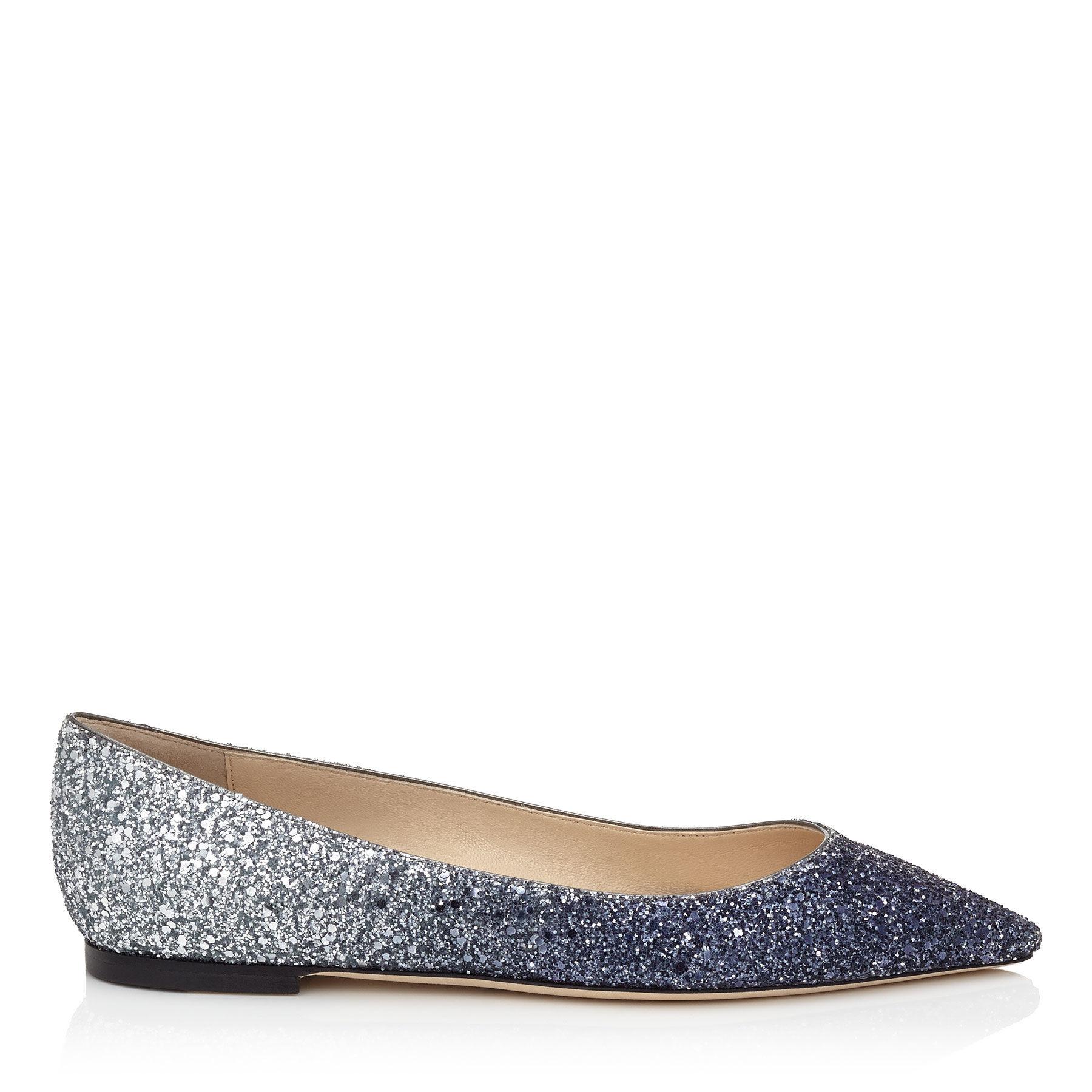 Blue Flat Shoes Uk