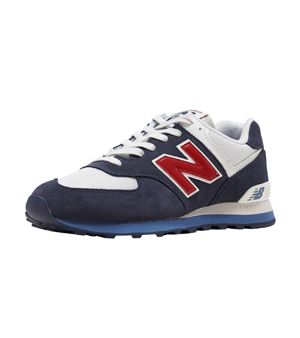 41cd67368ff79 Lyst - New Balance 574 Shoes in Blue for Men