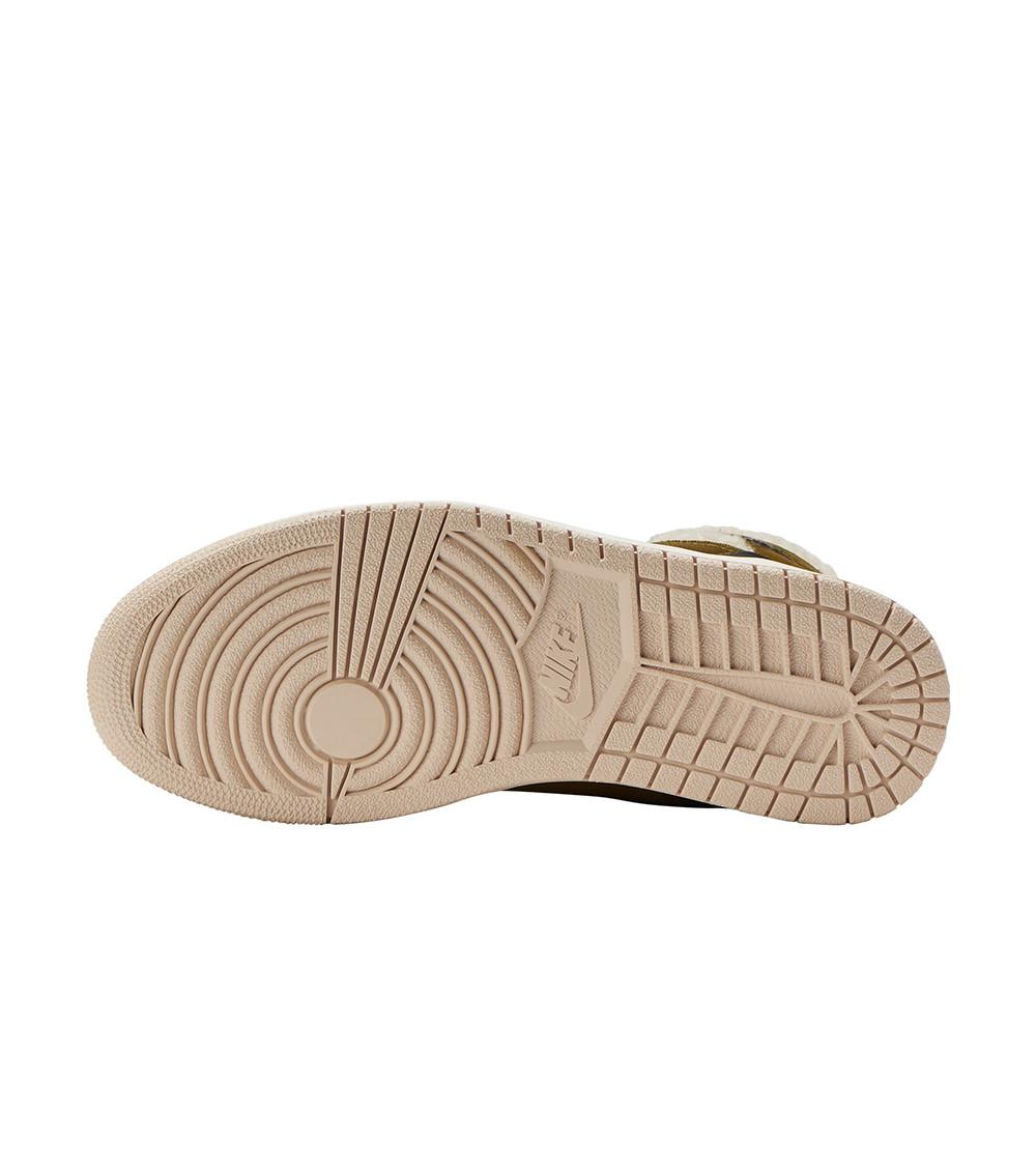 Lyst - Nike Aj 1 High Zip Premium Sneaker In Olive in Green - Save ... 7ae9a063e