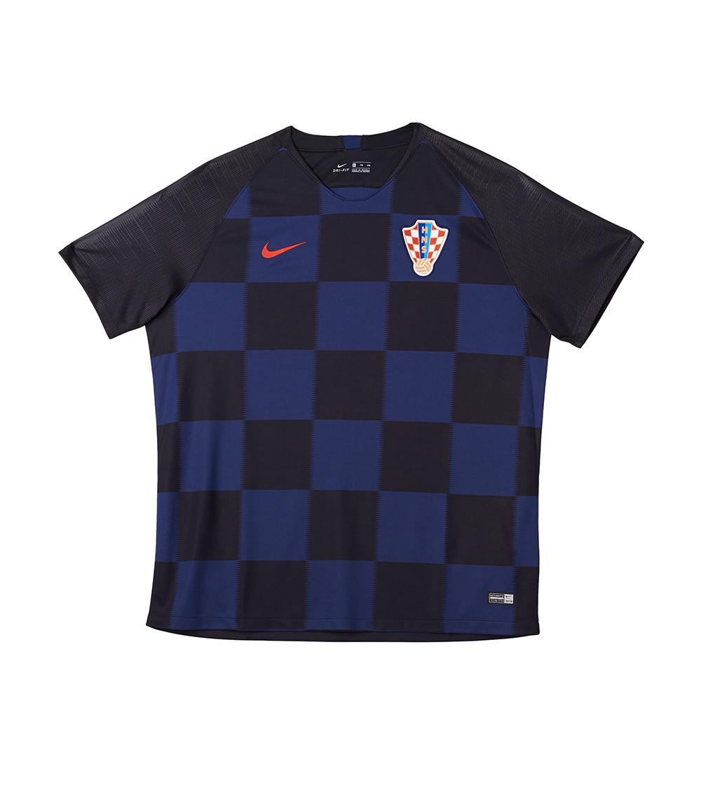 Lyst - Nike Croatia 2018 Away Ss Jersey in Blue for Men 1f30305cf