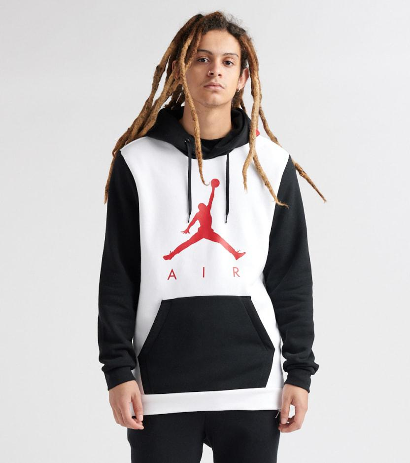 7e63464dc3ab90 Lyst - Nike Jumpman Air Gfx Pullover Hoodie in White for Men